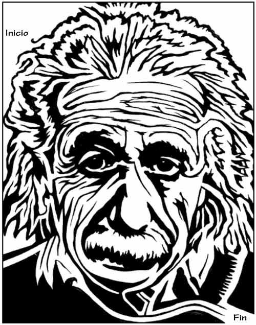 Puzzle laberinto con Einstein