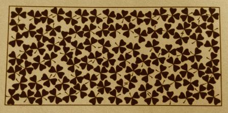 trebol de cuatro hojas
