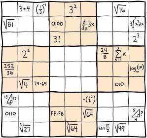 sudoku  matematico