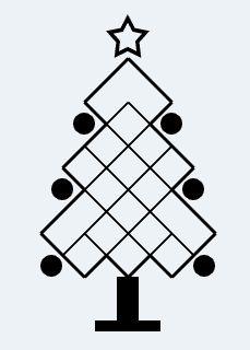 cuantos cuadrados navidad