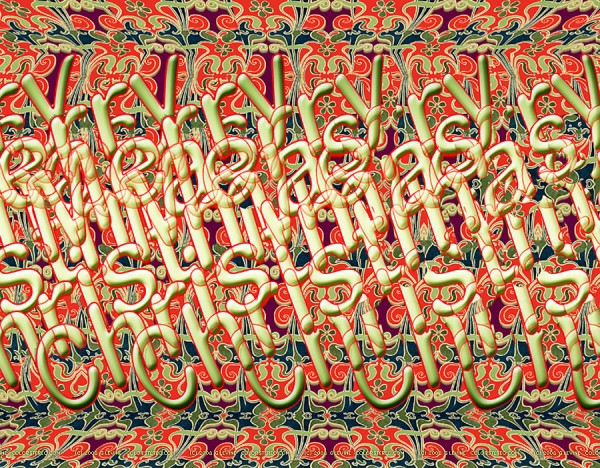 Merry-Christmas-Stereogram-by-Gene-Levine-600x468