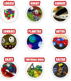categorias juegos