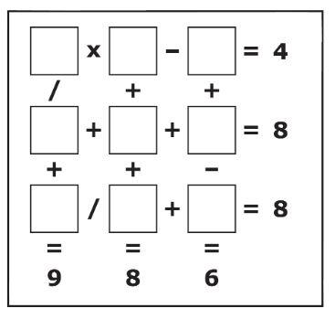 cuadrado aritmetico