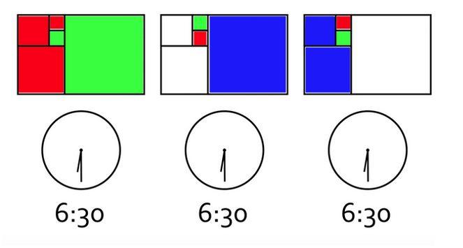 reloj Fibonacci acertijo